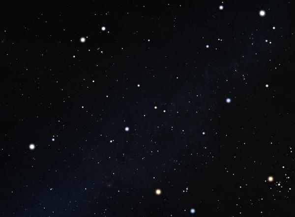 Au dessus d'Orion