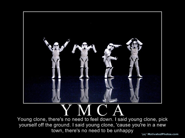 Young Clone, there's no need to feel down.